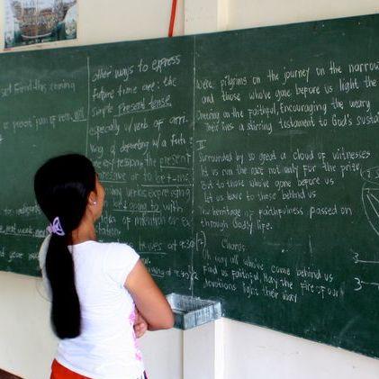 séjour linguistique cours classe