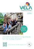 Brochure voyage linguistique VELA