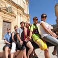Visite culturelle à l'étranger