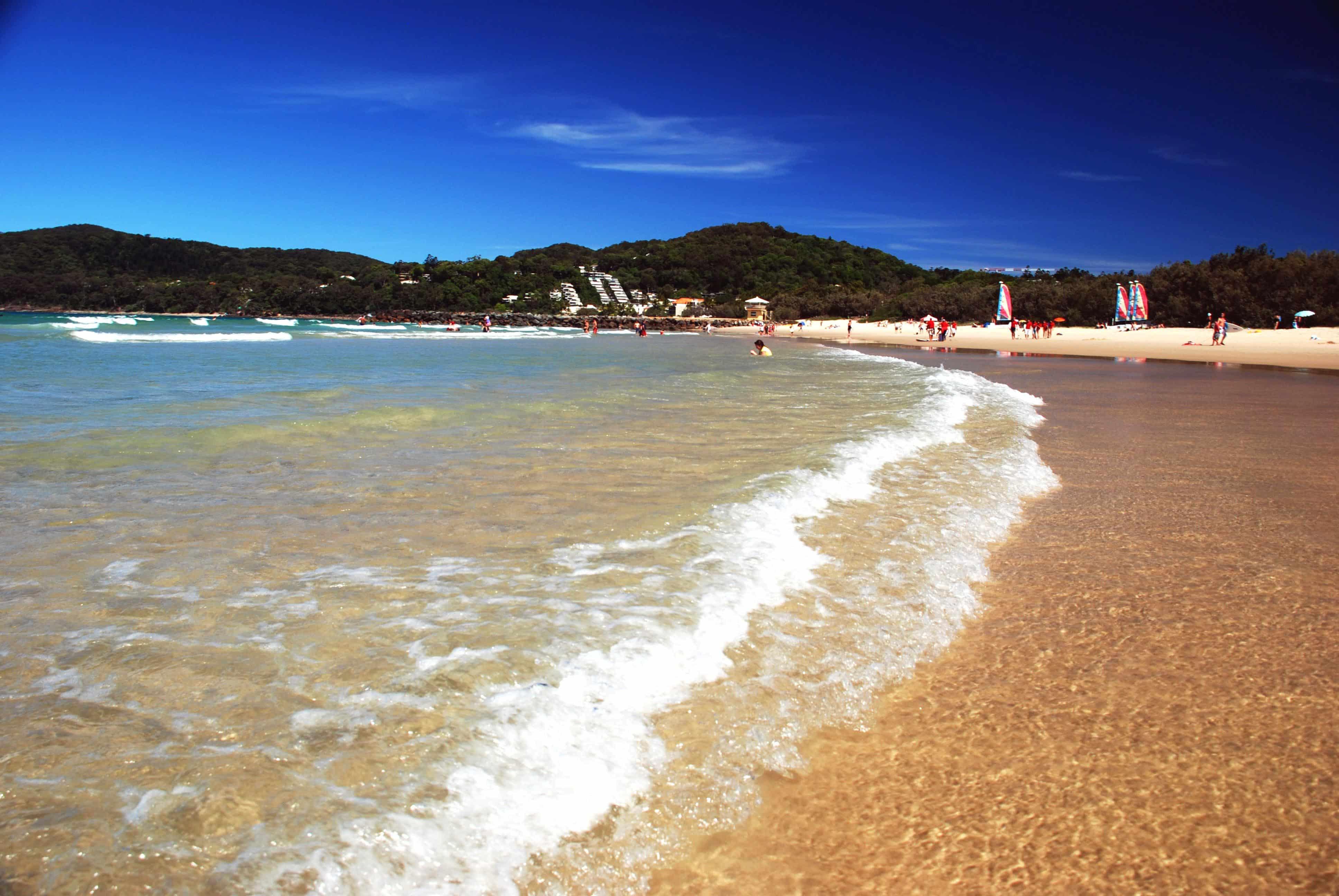séjour linguistique australie plage océan