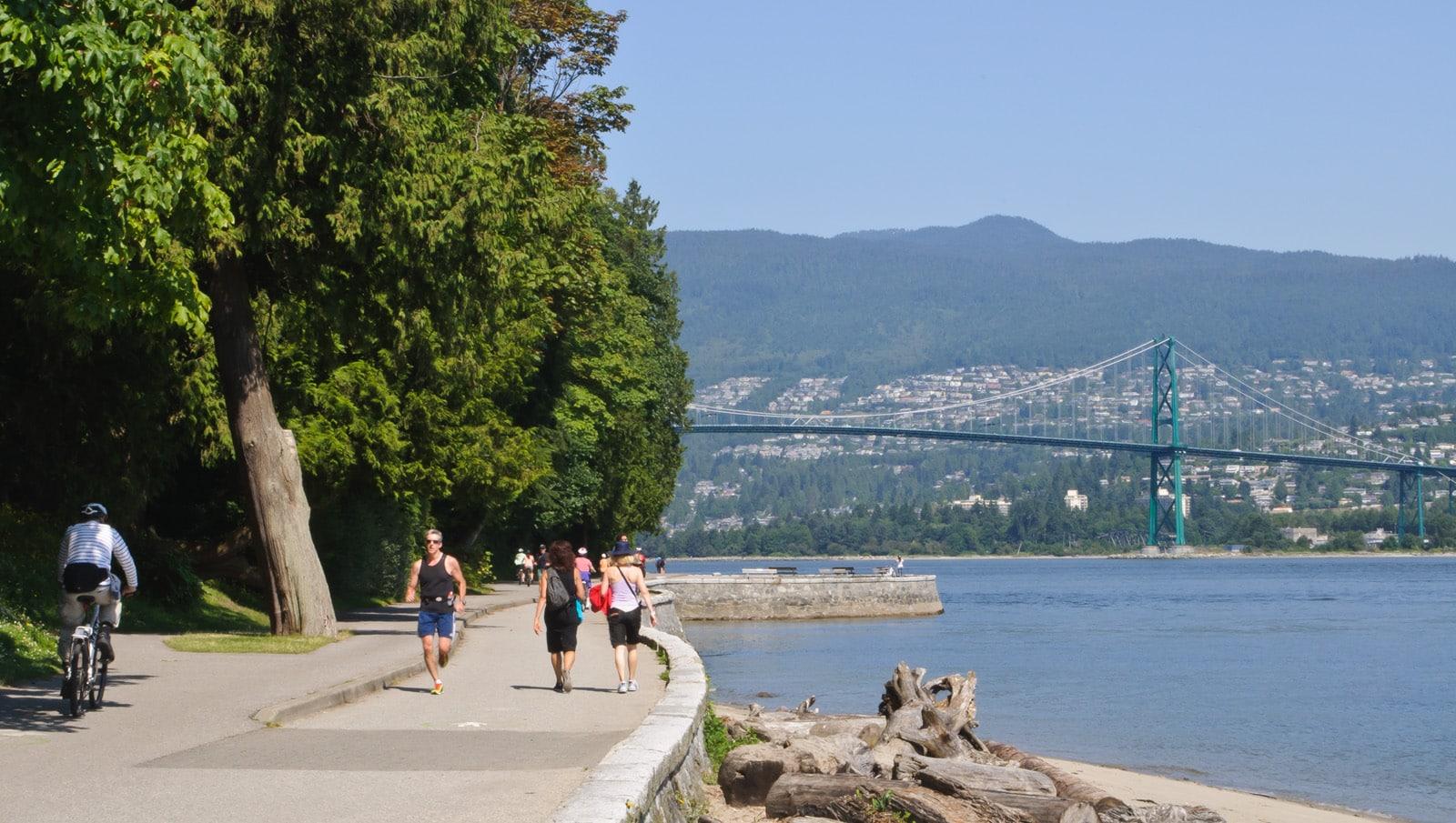 séjour linguistique canada vancouver promenade