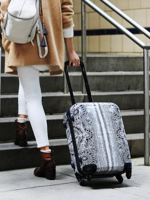 séjour linguistique valise voyage