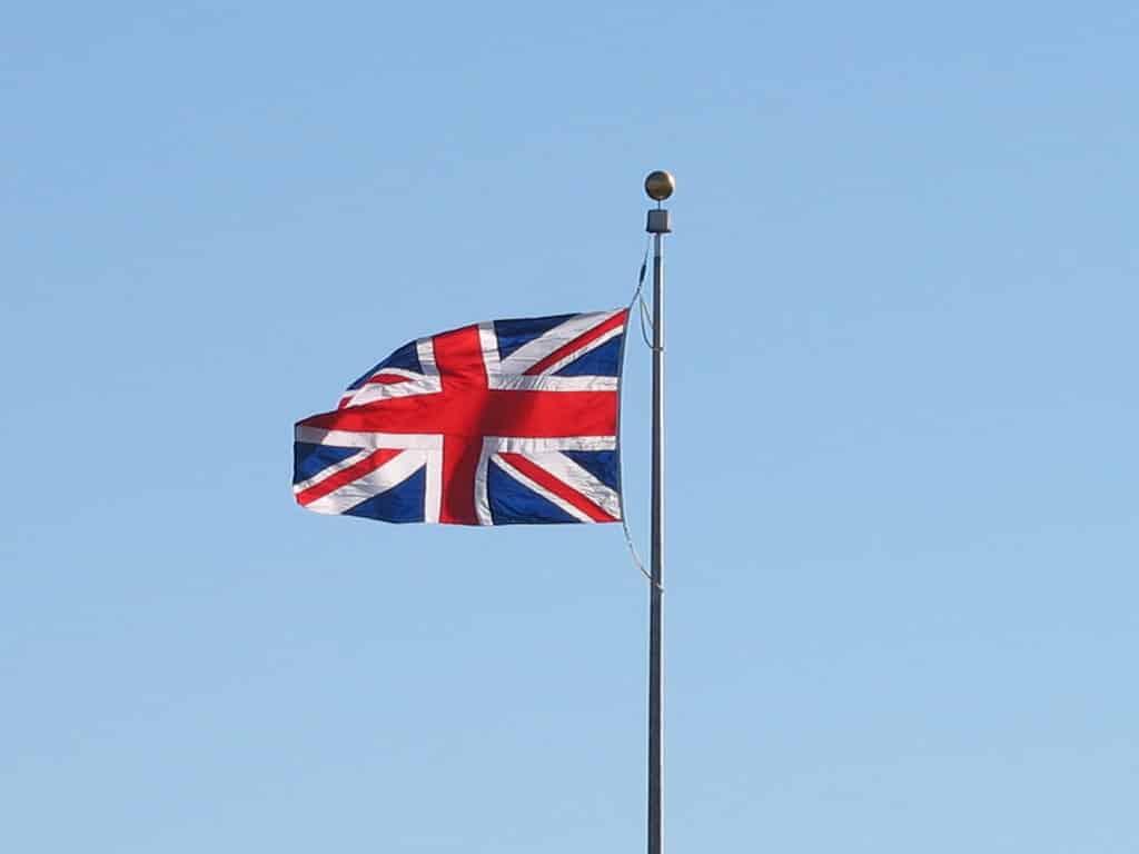 séjour linguistique angleterre drapeau