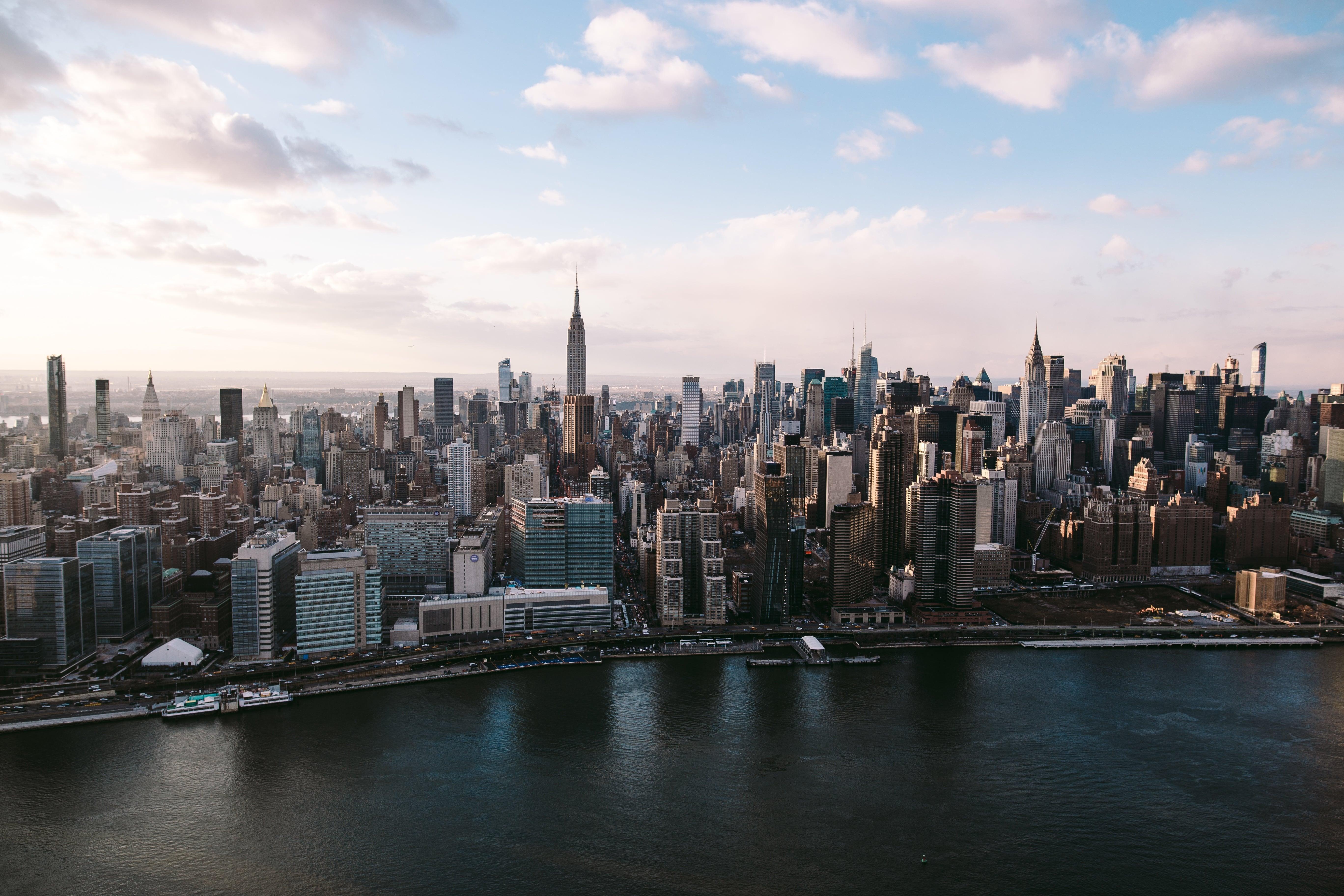 S jour linguistique etats unis le borough de manhattan for Ville a new york