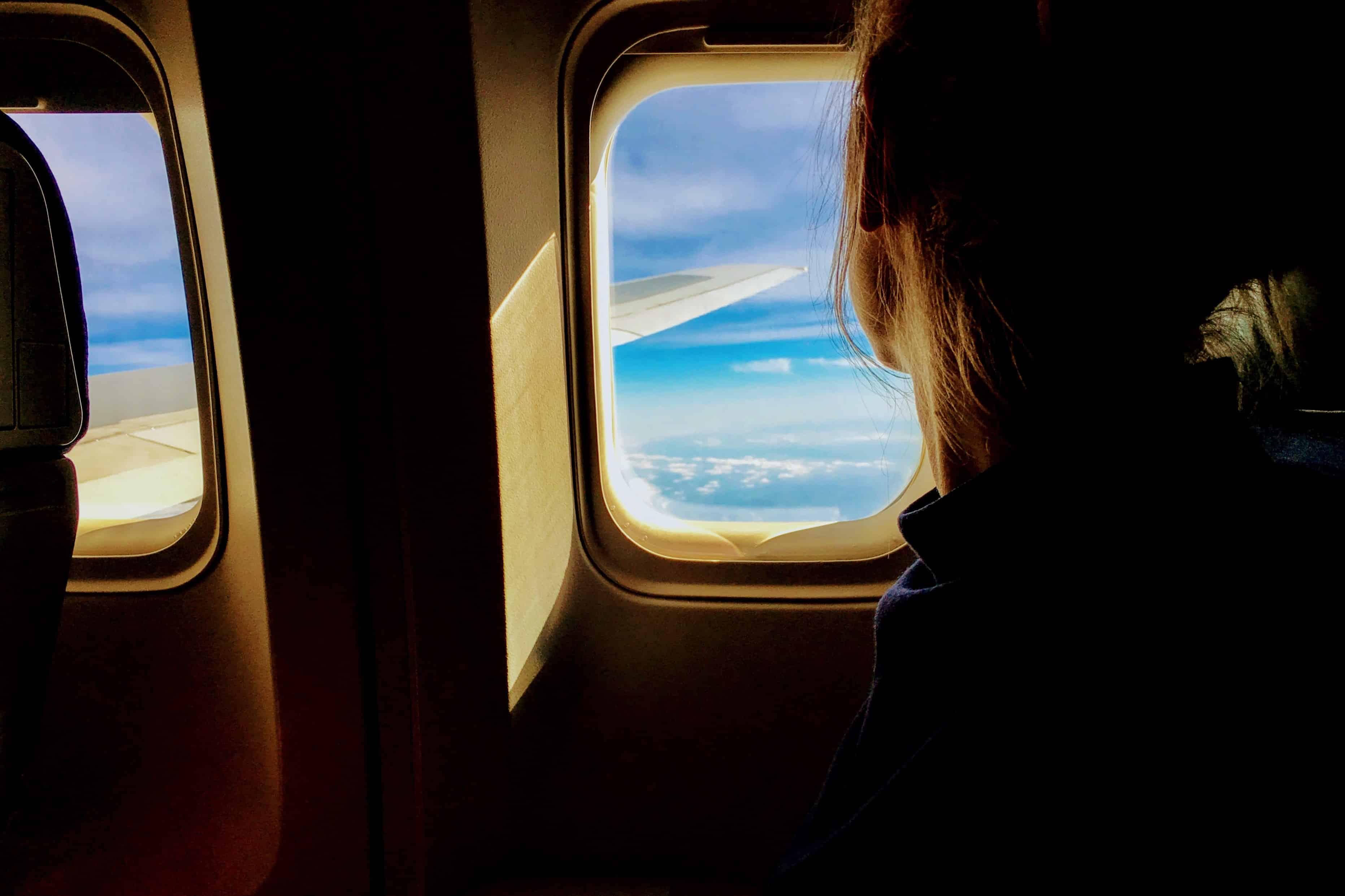 séjour linguistique avion voyage