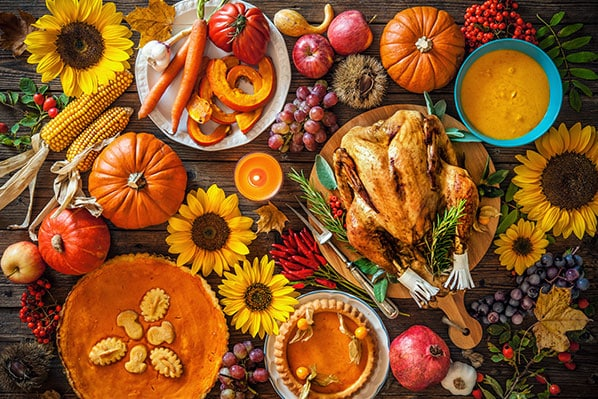 Préparer thanksgiving