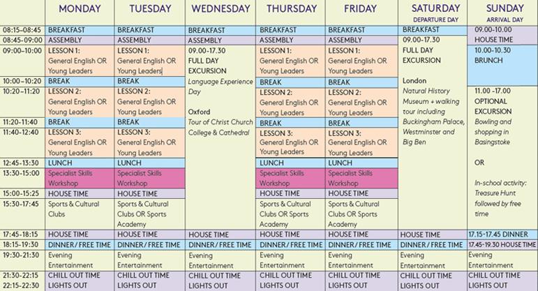 Hampshire programme